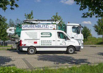 Fahrzeuge der Firma Grubenblitz und Drekopf