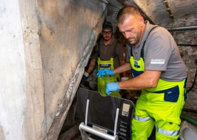 Kanalinspektion mit Kamerasystem von Kummert